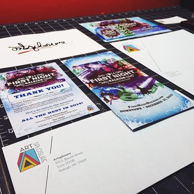 Artsplosure Print Materials