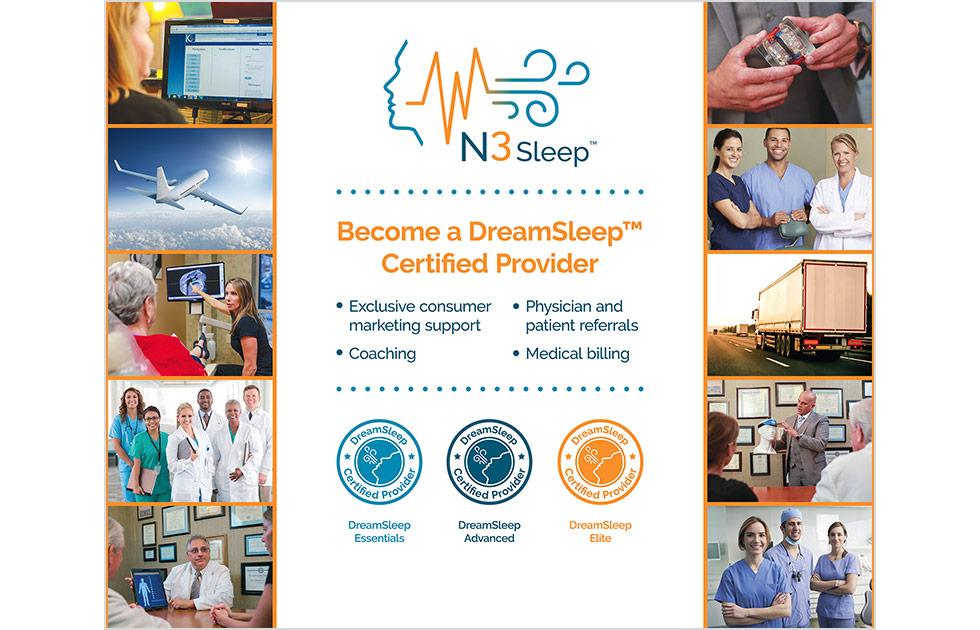 N3Sleep Tradeshow Booth