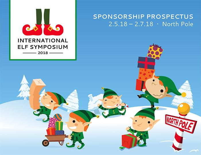 International Elf Symposium Graphic With Illustration Of Elves